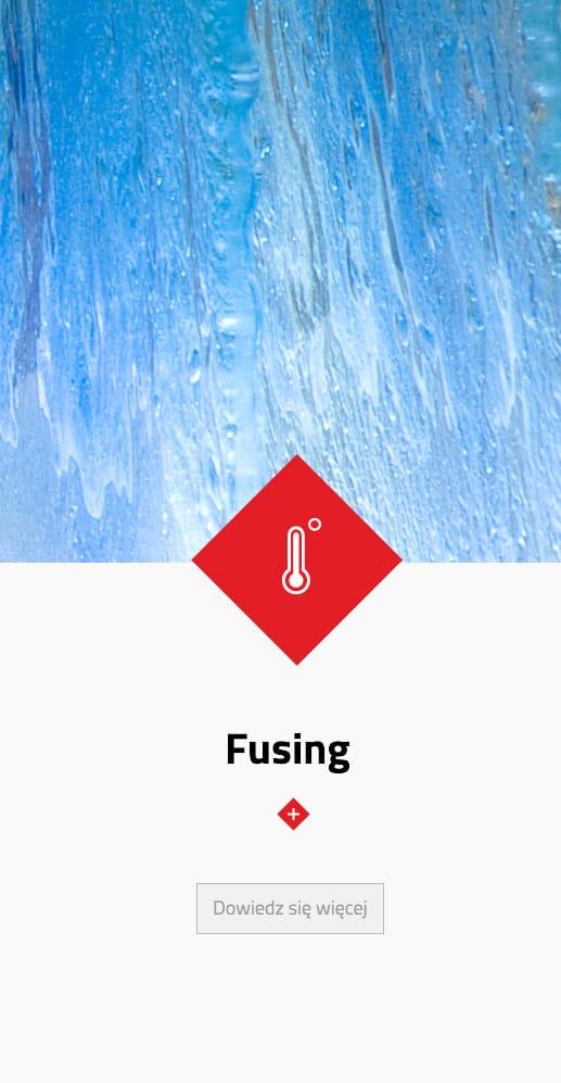 fusing, szkło artystyczne
